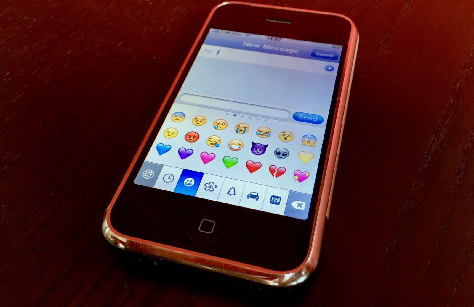 The Original iPhone Emoji Keyboard