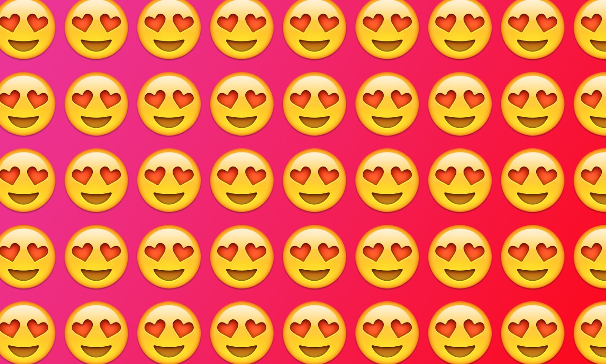 emojiology smiling face with heart eyes