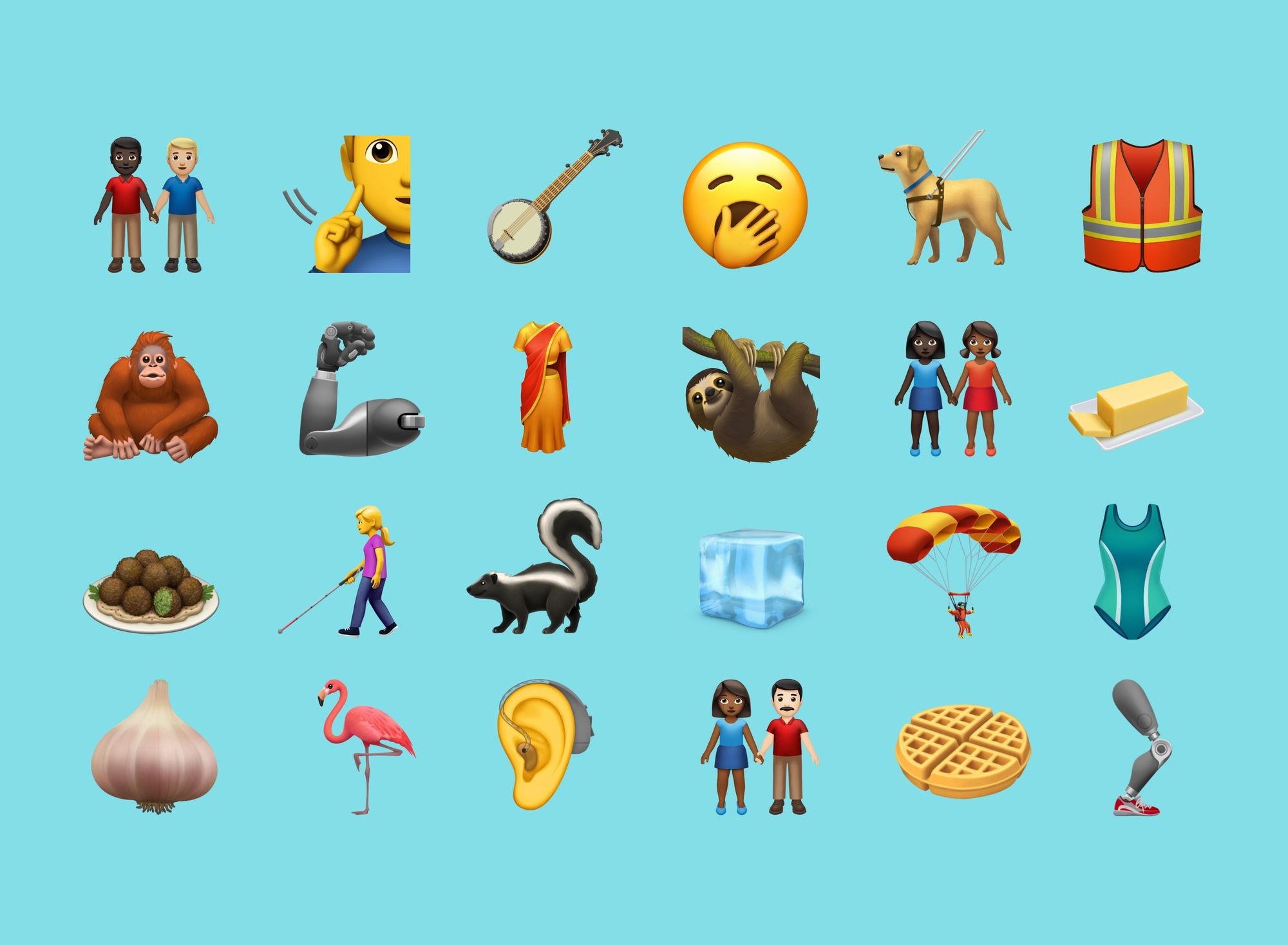 Apple Reveals New 2019 Emojis for World Emoji Day