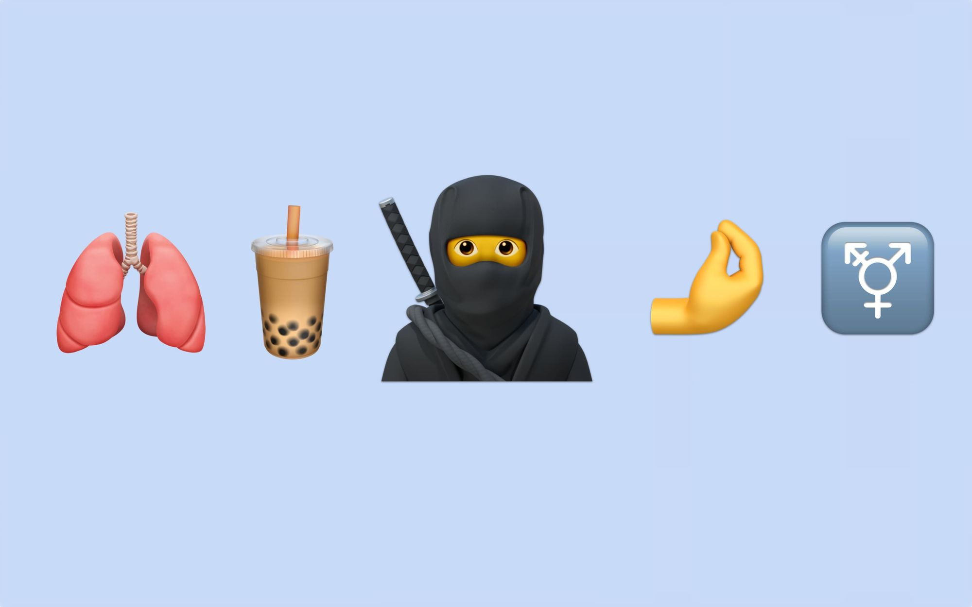 First Look: New Emojis Coming to iOS in 2020