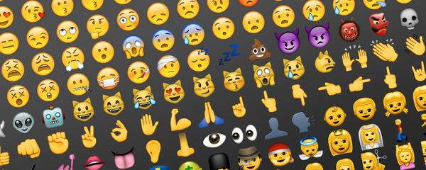 """Emojis"" on the Rise as Plural"