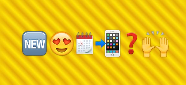 When to expect the new emojis