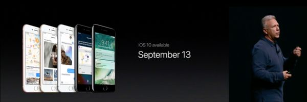 iOS 10 Release Date Announced