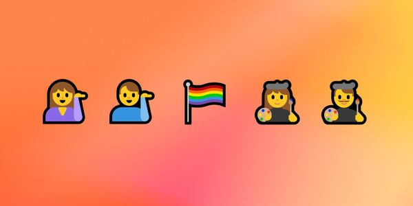 Windows 10 Creators Update Emoji Changelog