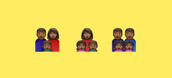 Why There Aren't Black Family Emojis