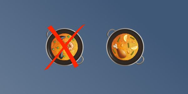 Apple Fixes Paella Emoji