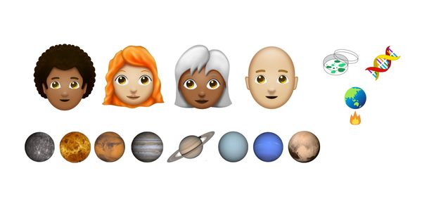 Science, Planets, Curly Hair on Unicode Agenda