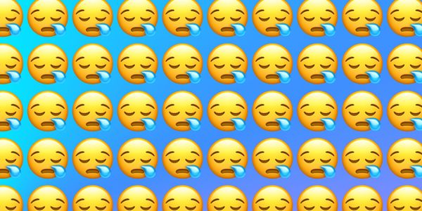 Emojiology: 😪 Sleepy Face
