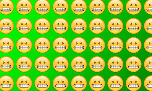 Emojiology: 😬 Grimacing Face