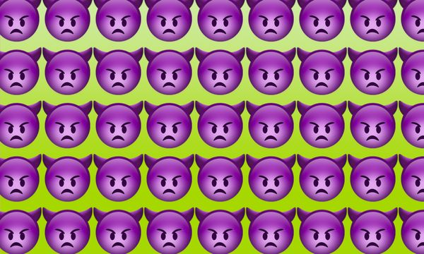 Emojiology: 👿 Angry Face With Horns