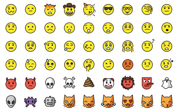 OpenMoji: a free and open source emoji set
