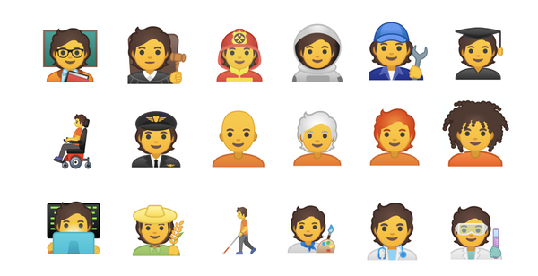 Unicode Brings Forward Gender Neutral Timeline