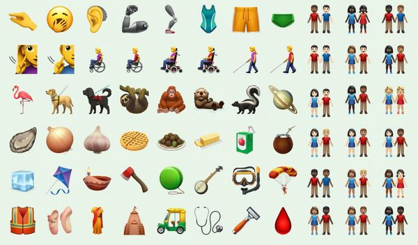 First Look: New Emojis in iOS 13.2