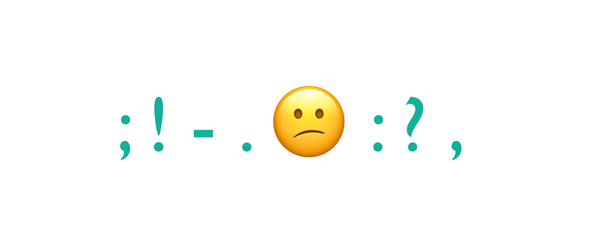 The Definitive Guide to Emoji Punctuation