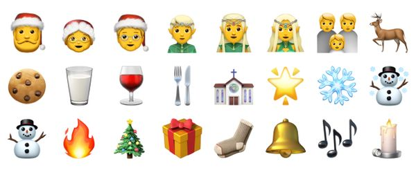 Every Christmas Emoji